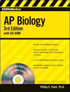 Cliff notes AP Biology prep