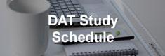 DAT Study Schedule
