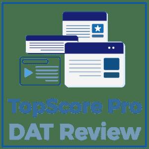 TopScore Pro DAT Review